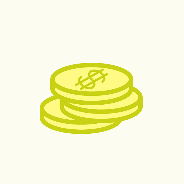 For ideas on how to make money - illustration of a stack of yellow coins with a green outline