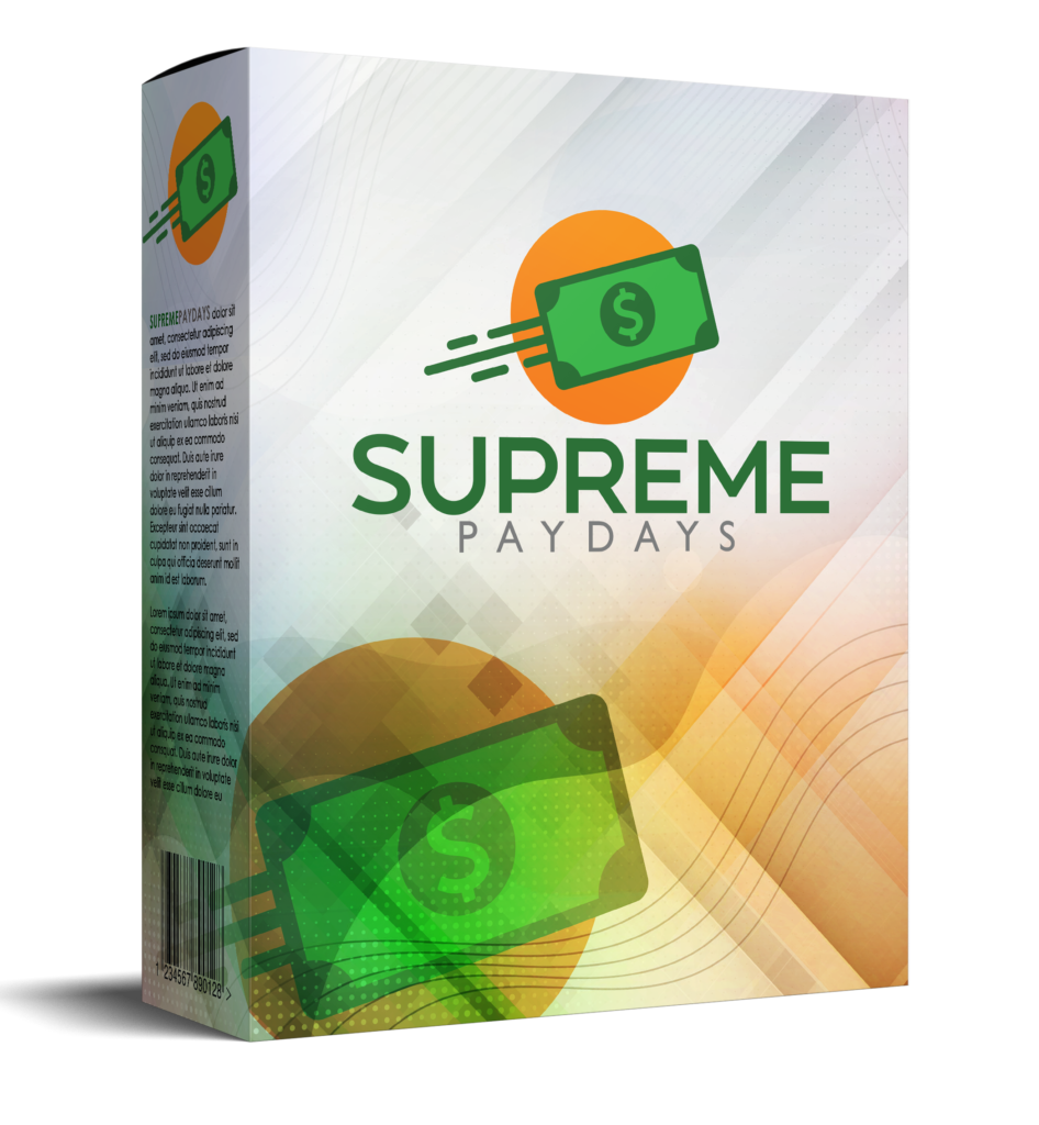 Supreme Paydays Review - Product